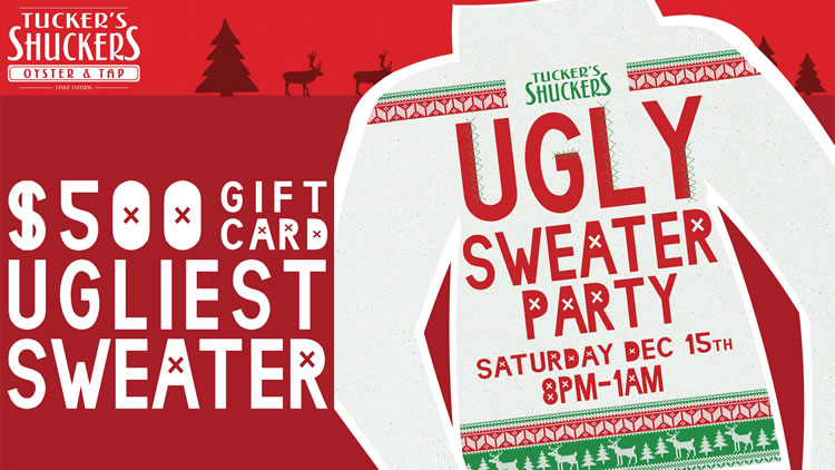 Ugly Christmas Sweater Party with DJ LoFoSho